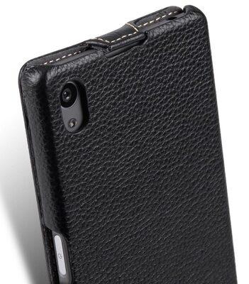 Melkco Premium leather Case for Sony Xperia Z5 - Jacka Type (Black LC)
