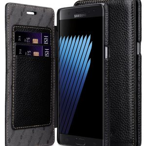 Premium Leather Face Cover Book Type Case for Samsung Galaxy Note 7