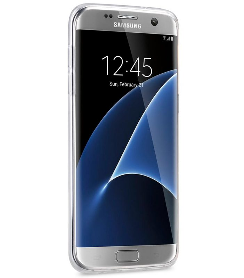 Melkco Superlim TPU Cases for Samsung Galaxy S7 Edge - Transparent