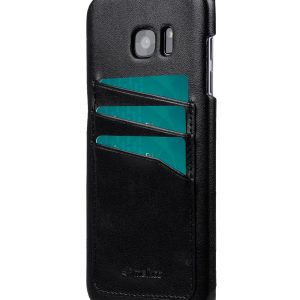 Melkco Triple Card slot back cover for Samsung Galaxy S7 Edge - Black PU