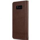 Melkco Fashion Cocktail Series Slim Flip Case for Samsung Galaxy S8 (Brown)