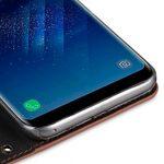 Melkco Fashion Cocktail Series Slim Flip Case for Samsung Galaxy S8 Plus (Orange Brown)