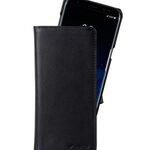 Melkco Premium Leather Case for Samsung Galaxy S8 - Alphard Type ( Black )