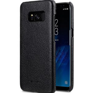 Premium Leather Case for Samsung Galaxy S8 Plus - Snap Cover