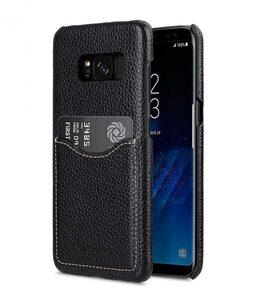 Melkco Premium Leather Card Slot Back Cover V2 for Samsung Galaxy S8 - ( Black LC )