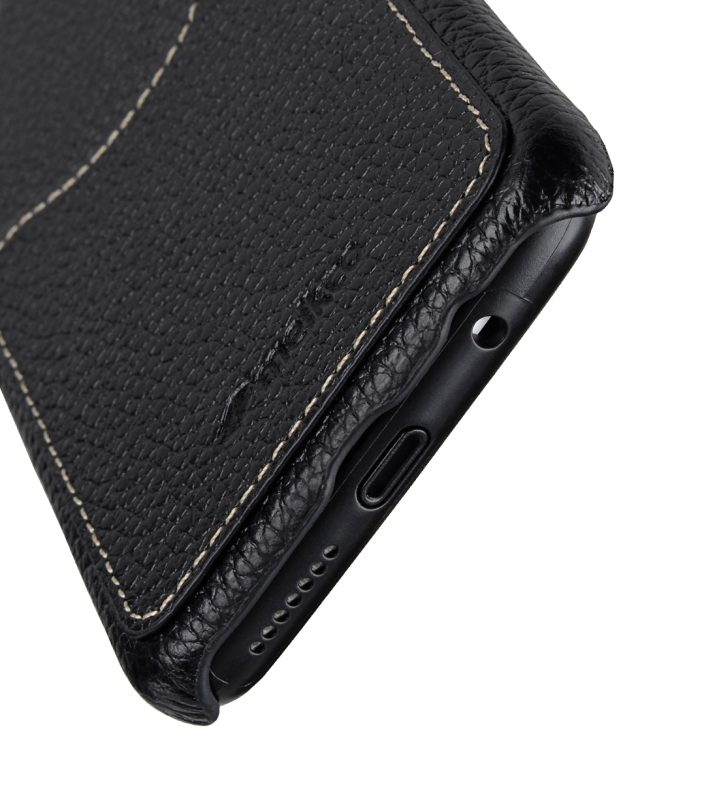 Melkco Premium Leather Card Slot Back Cover V2 for Samsung Galaxy S8 Plus - ( Black LC )