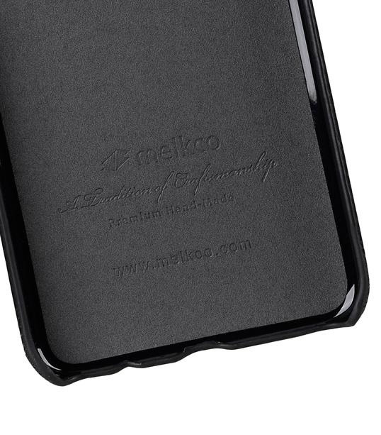 Melkco Premium Leather Card Slot Back Cover V2 for Samsung Galaxy S8 Plus - ( Black LC )