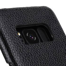 Melkco Premium Leather Card Slot Back Cover V2 for Samsung Galaxy S8 – ( Black LC )