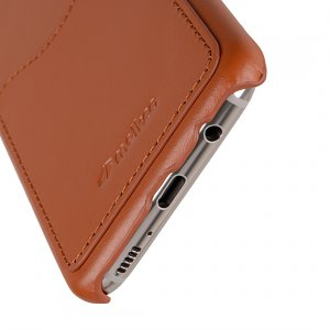 Melkco Premium Leather Card Slot Back Cover V2 for Samsung Galaxy S8 Plus - ( Brown )