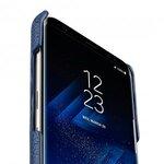 Melkco Premium Leather Card Slot Back Cover V2 for Samsung Galaxy S8 Plus - ( Dark Blue LC )