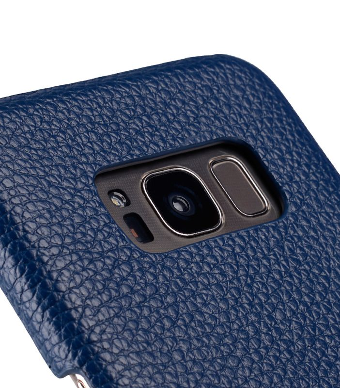 Melkco Premium Leather Card Slot Back Cover V2 for Samsung Galaxy S8 Plus - ( Dark Blue LC )