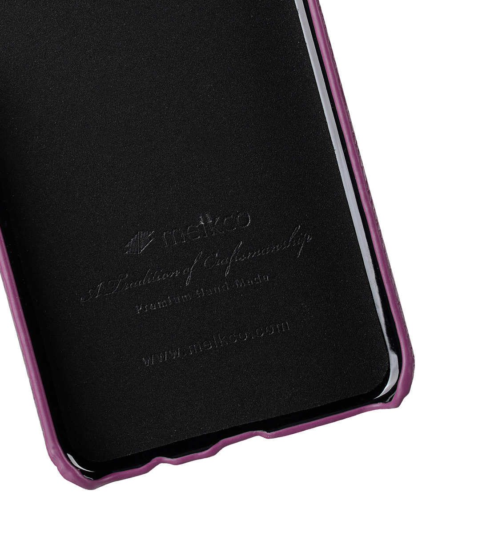 Melkco Premium Leather Card Slot Back Cover V2 for Samsung Galaxy S8 Plus - ( Purple LC )