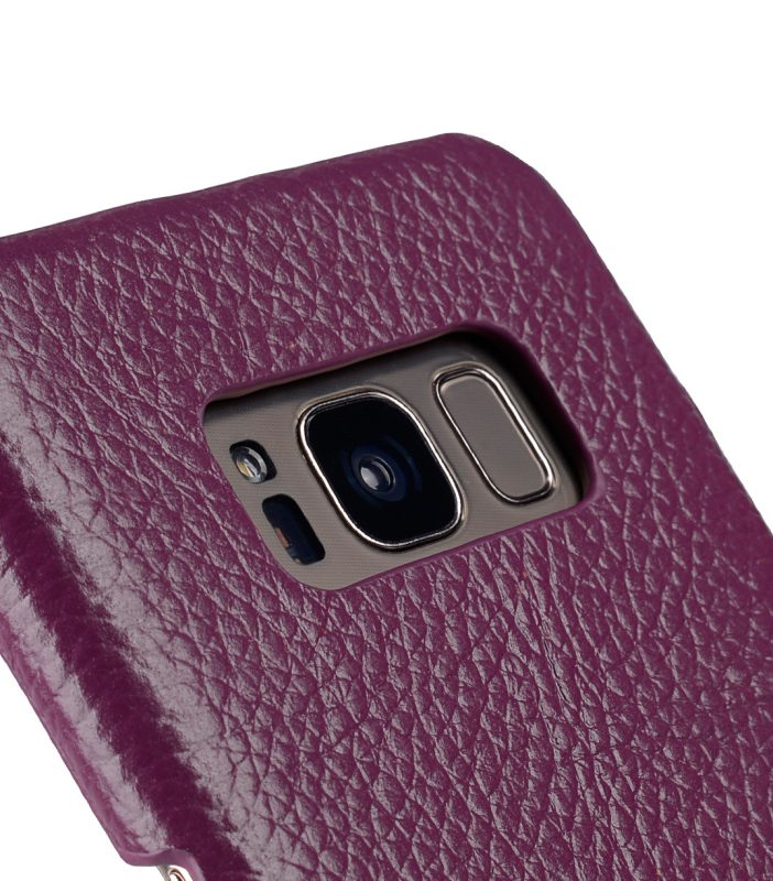 Melkco Premium Leather Card Slot Back Cover V2 for Samsung Galaxy S8 Plus - ( Purple LC )