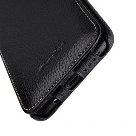 Melkco Premium Leather Case for Samsung Galaxy S8 Plus – Jacka Type ( Black LC )