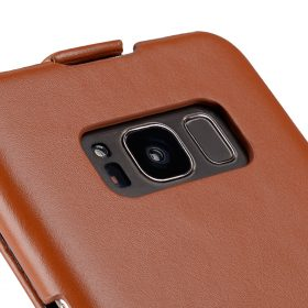 Melkco Premium Leather Case for Samsung Galaxy S8 Plus – Jacka Type ( Brown )