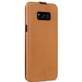 Melkco Jacka Series Premium Vegetable Leather Case for Samsung Galaxy S8 Plus – Jacka Type ( Brown )