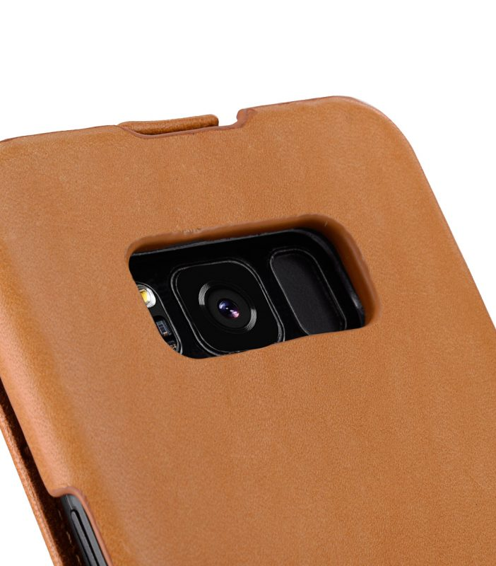 Melkco Jacka Series Premium Vegetable Leather Case for Samsung Galaxy S8 Plus - Jacka Type ( Brown )
