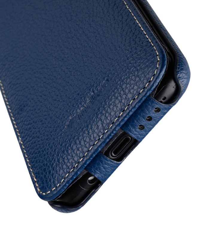 Melkco Premium Leather Case for Samsung Galaxy S8 Plus - Jacka Type ( Dark Blue LC )