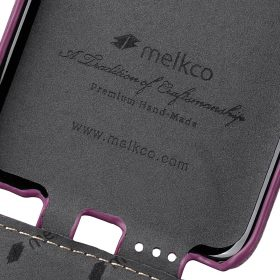 Melkco Premium Leather Case for Samsung Galaxy S8 – Jacka Type ( Purple LC )