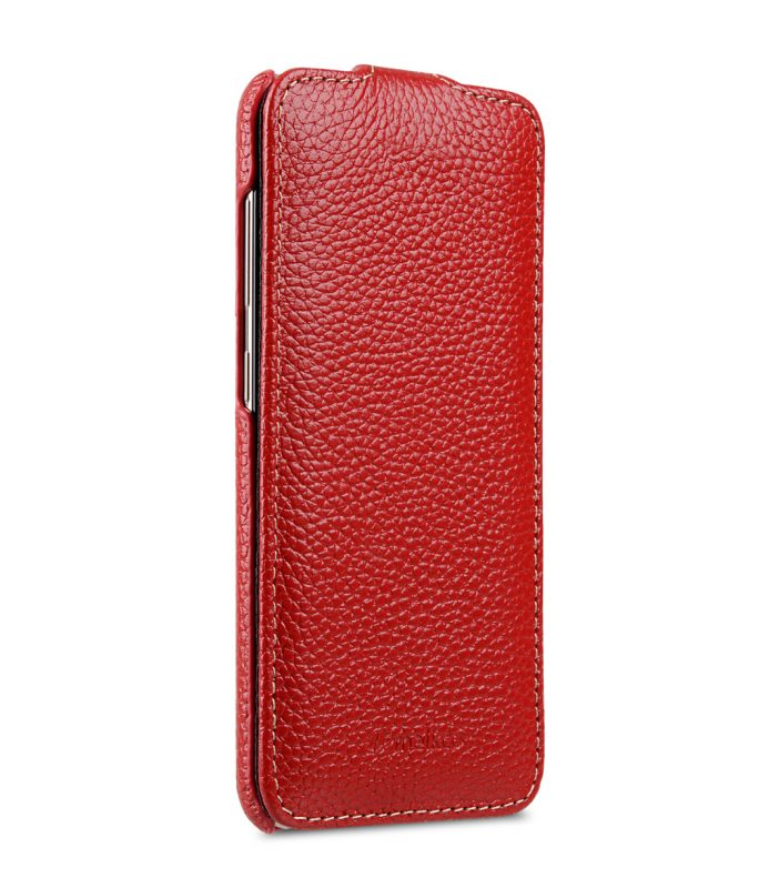 Melkco Premium Leather Case for Samsung Galaxy S8 - Jacka Type ( Red LC )