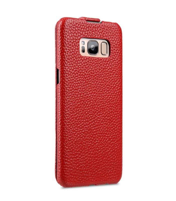 Melkco Premium Leather Case for Samsung Galaxy S8 Plus - Jacka Type ( Red LC )