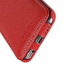 Melkco Premium Leather Case for Samsung Galaxy S8 Plus – Jacka Type ( Red LC )
