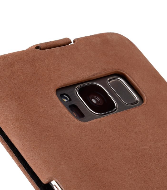 Melkco Premium Leather Case for Samsung Galaxy S8 - Jacka Type ( Classic Vintage Brown )