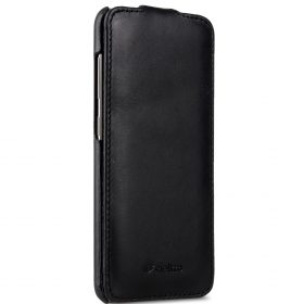 Melkco Premium Leather Case for Samsung Galaxy S8 Plus – Jacka Type ( Vintage Black )