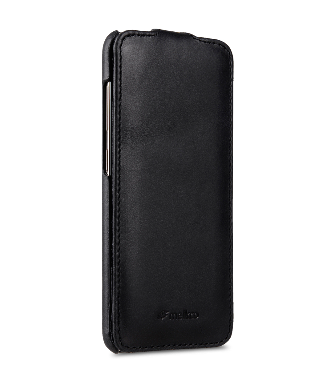 Melkco Premium Leather Case for Samsung Galaxy S8 Plus - Jacka Type ( Vintage Black )