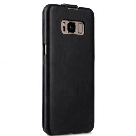 Melkco Premium Leather Case for Samsung Galaxy S8 – Jacka Type ( Vintage Black )