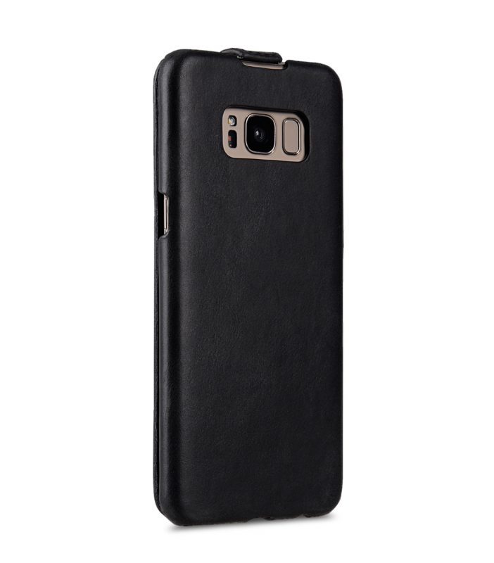 Melkco Premium Leather Case for Samsung Galaxy S8 - Jacka Type ( Vintage Black )