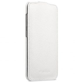 Melkco Premium Leather Case for Samsung Galaxy S8 Plus – Jacka Type ( White LC )