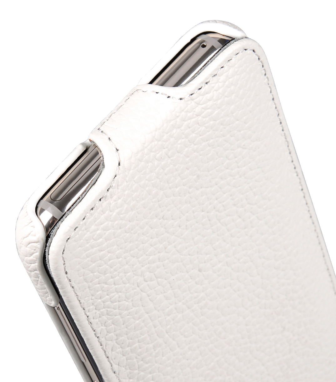 Melkco Premium Leather Case for Samsung Galaxy S8 - Jacka Type ( White LC )