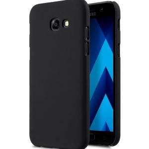 Melkco Rubberized PC Cover for SAMSUNG GALAXY A5 (2017) -Black (Without screen protector)