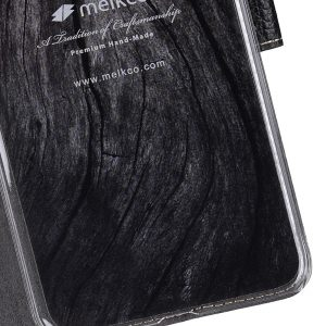 Melkco Premium Leather Case for Samsung Galaxy S8 Plus - Wallet Book Clear Type Stand ( Black LC )