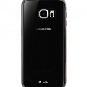 Melkco Poly Ultima Case for Samsung Galaxy S6 Edge Plus - Transparent Black