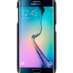 Melkco Mini PU Card Slot Snap Cover (Ver.2) for Samsung Galaxy S6 Edge - Black PU