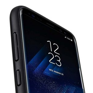 Slider Dual Rugged Case With Stand Function for Samsung Galaxy S8 Plus - (Black)