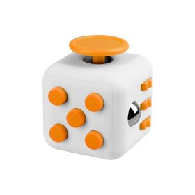i-mee Stress Relief Fidget Cube – White/Yellow