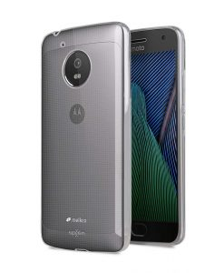 UltraThin Series Air Superlim TPU Case for Motorola Moto G5 - (Transparent)
