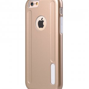 "Melkco Special Edition Metallic Kubalt for Apple iPhone 6s (4.7"") (Apple Logo visible) - Gold / White"