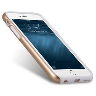 "Melkco Special Edition Metallic Kubalt for Apple iPhone 6s (4.7"") (Apple Logo visible) – Gold / White"