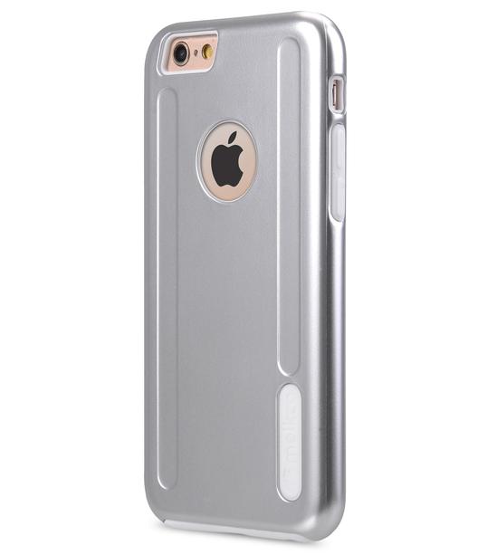 "Melkco Special Edition Metallic Kubalt for Apple iPhone 6s (4.7"") (Apple Logo visible) - Silver / White"