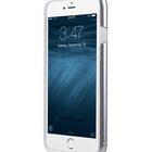 "Melkco Special Edition Metallic Kubalt for Apple iPhone 6s (4.7"") (Apple Logo visible) – Silver / White"