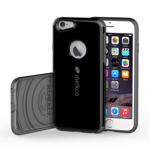 Melkco Kubalt Double Layer Armor Pro for Apple iPhone 6s / 6 (4.7'') - (Black / Carbon Sliver)