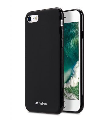 "Melkco Poly Jacket TPU Case for Apple iPhone 7 / 8 (4.7"") - Black Mat"