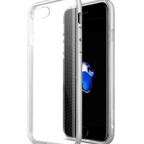 """Melkco Dual Layer Pro case for Apple iphone7 / 8 Plus (5.5"""") – Silver"""