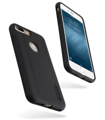 "Kubalt Double Layer Case for Apple iPhone 7 / 8 Plus (5.5"") - Black / Black"