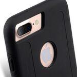 "Kubalt Double Layer Case for Apple iPhone 7 / 8 Plus (5.5"") - Black / Black"