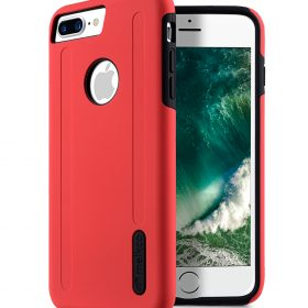 """Kubalt double layer case for iphone for Apple iphone7/ 8 Plus(5.5"""") – Red/Black"""